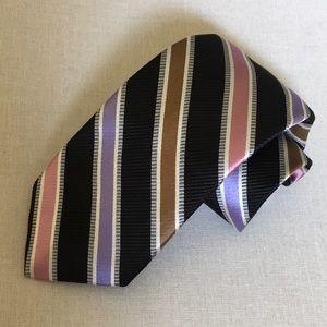 $98 Monterey Robert Talbott Silk Neck Tie